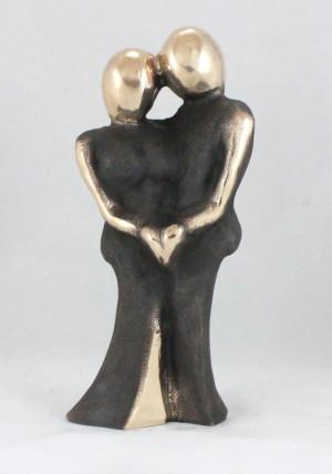 bronzeskulptur_lene_purkaer_stefansen_vores_kaerlighed_for_evigt_dig_og_mig