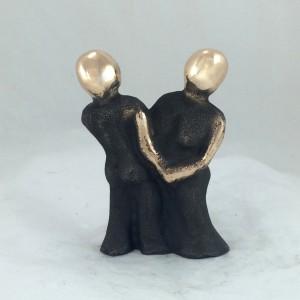 bronzeskulptur_medgang_og_modgan_kaerlighed_lene_purkaer_stefansen