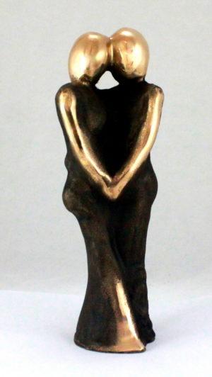 bronzeskulptur_lenepurkaer_kaerlighed_omsorg_naervaer_naervær_og_evig_kaerlighed