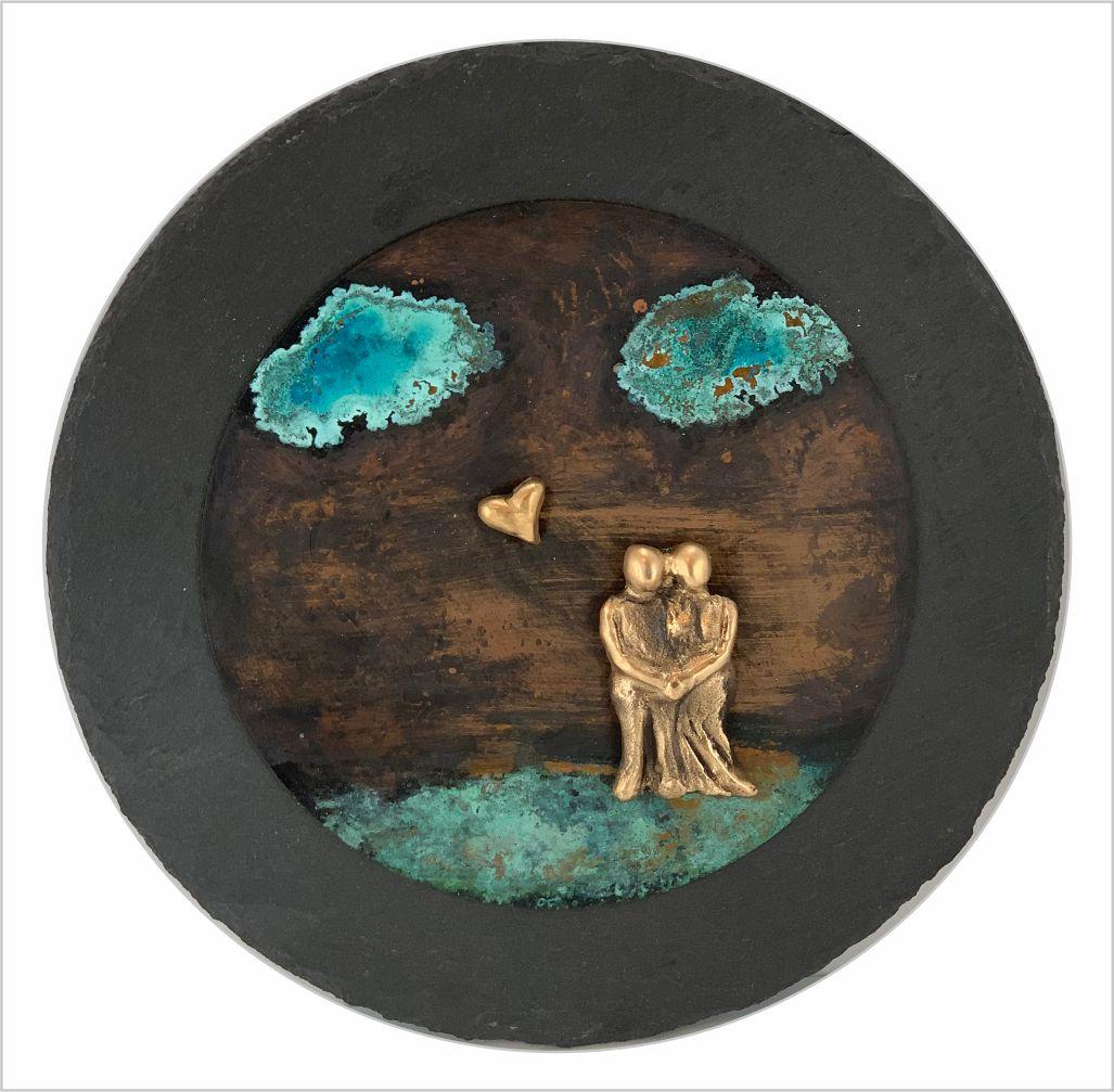 Udsmyk boligen med de skønne patineringer .. kunstværker i bronze