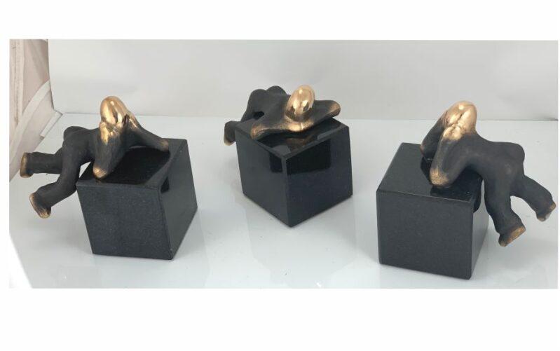 Mit Pusterum – Tre forskellige skulpturer