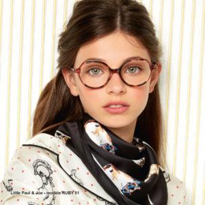 Lunette Little Paul and Joe eyewear opticien Bulle