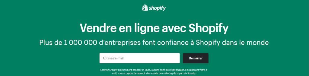 cadre shopify pendant 90 jours