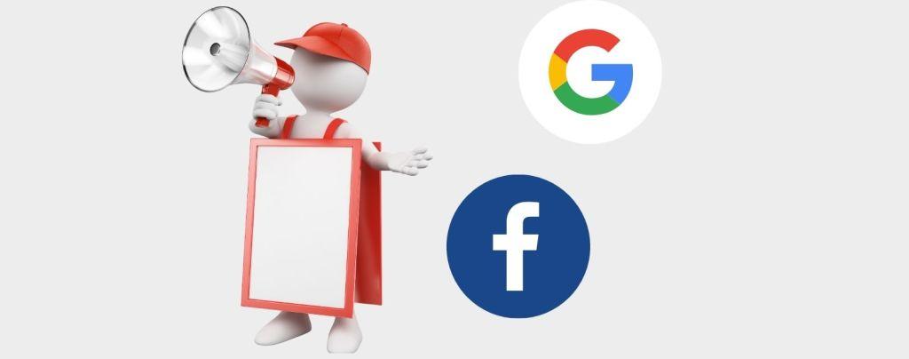 différents placements facebook ads et gogle ads