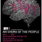 "Theatre. Henrik Ibsen's ""An Enemy of the People"" (English)"