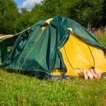 Home and away – the consequences of going camping as a family
