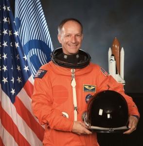Claude Nicollier, Switzerland's first astronaut