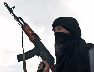 http://www.dreamstime.com/royalty-free-stock-photo-muslim-rebel-ak-assault-rifle-image28452705