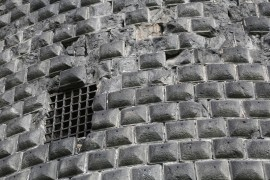 http://www.dreamstime.com/stock-photo-prison-medieval-stone-wall-image44312010