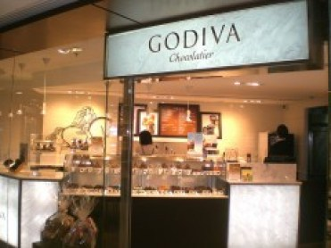 Godiva's chocolate shop. Hong Kong branch. Photo: Wikipedia