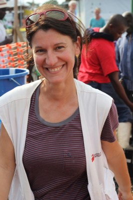 MSF deputy director Aude Thorel.    Photo: Caitlin Ryan/MSF