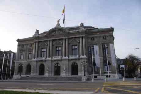 Geneva's Grand Théâtre and Opera