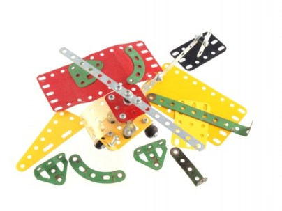 Meccano - a most brilliant game is coming back into fashion.