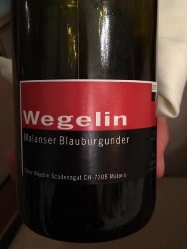 Peter Wegelin – Malanser Blauburgunder 2012 (Switzerland)