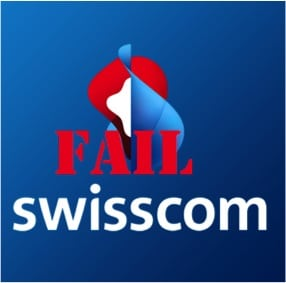 Swisscom fail