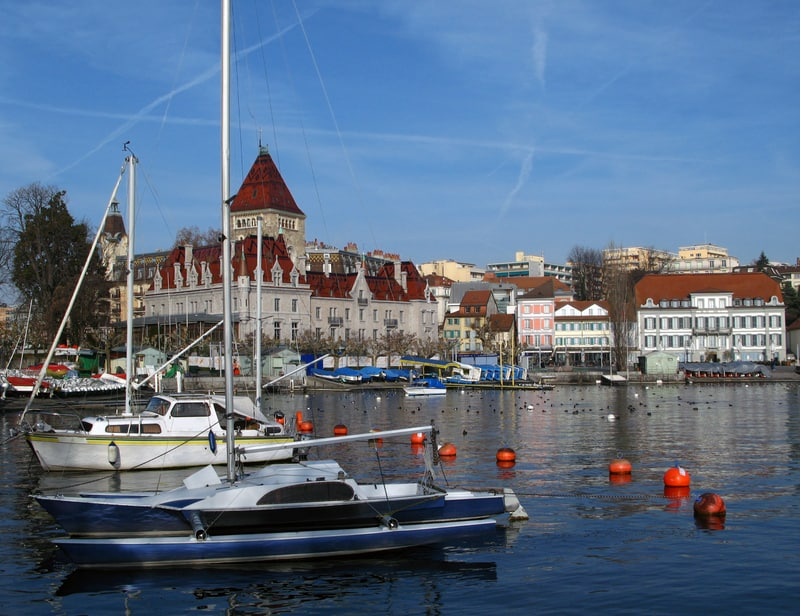 Lausanne lake geneva