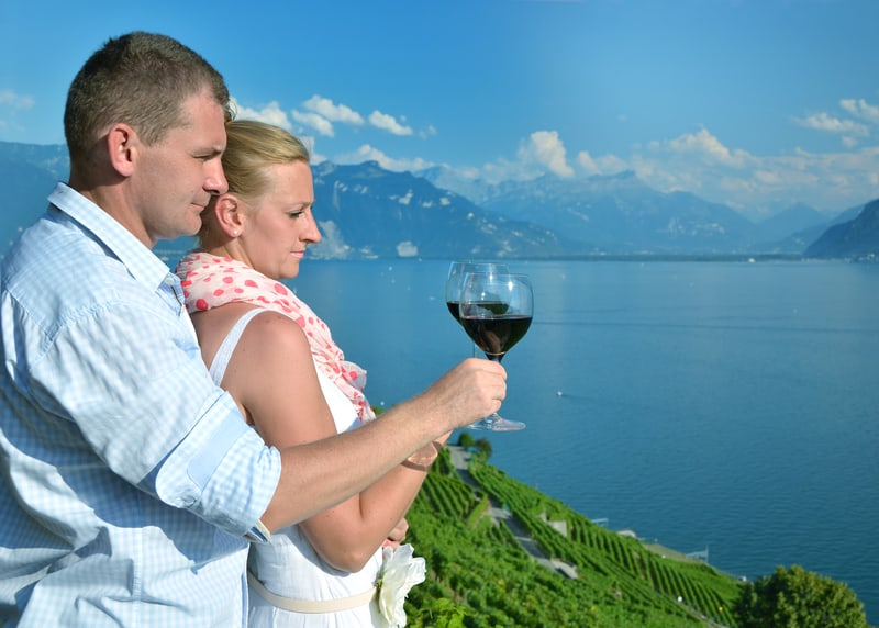 Drinking-wine-in-Lavaux-Switzerland
