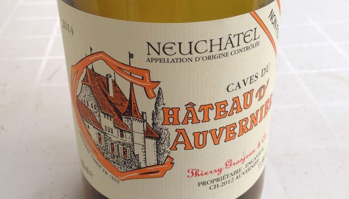 Unfiltered Swiss wine
