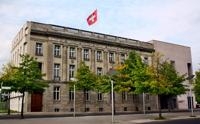 © Adam88x | Dreamstime.com - The Swiss Embassy In Berlin