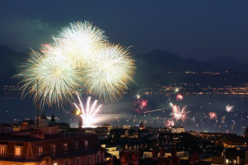 Fireworks in Lausanne - © Mihai-bogdan Lazar | Dreamstime.com