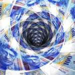 What is driving the Swiss franc's fall?