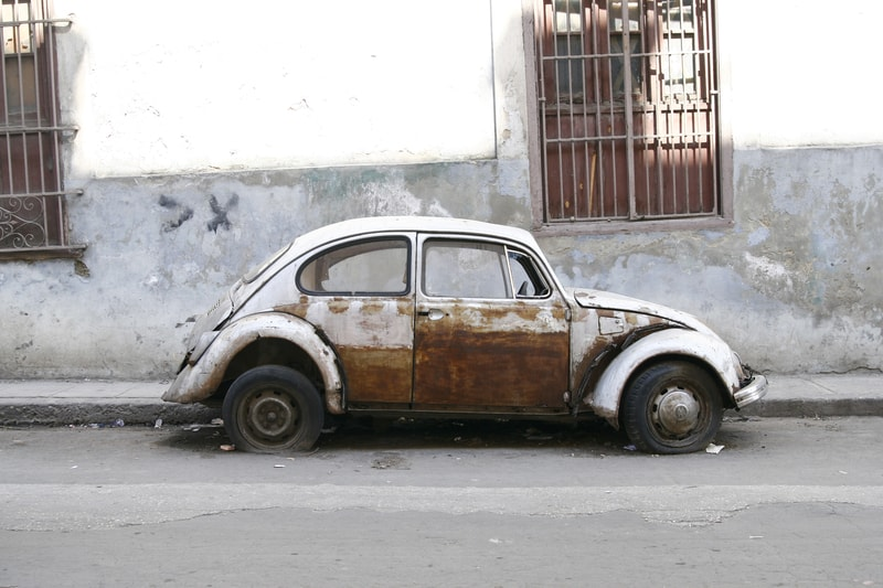 Dirty old Volkswagen