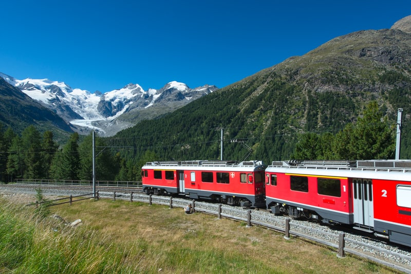 Swiss train travel - © Rossella Degradi | Dreamstime.com