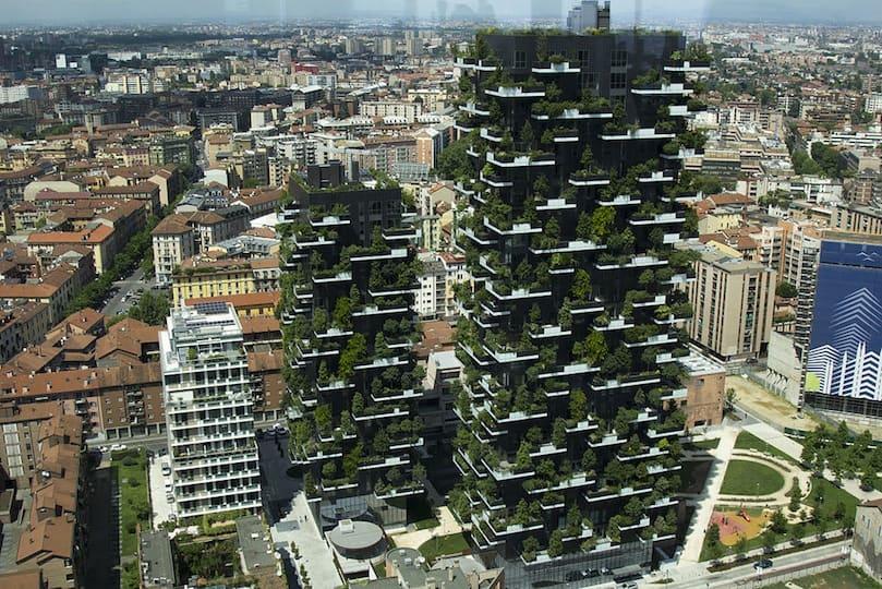 Bosco Verticale in Milan - Source: Wikipedia