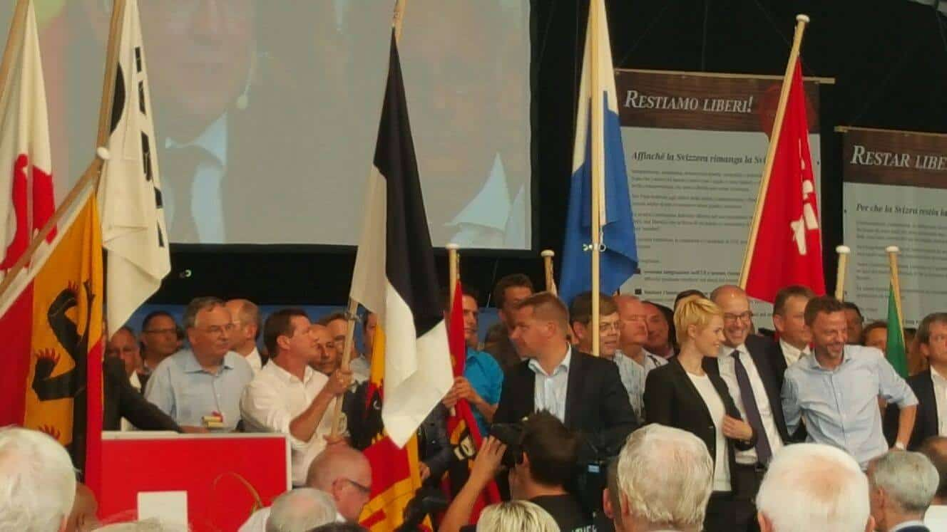 Swiss People's Party gathering - Source: Facebook