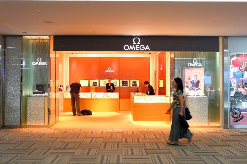 One bright spot - Omega store at Tokyo's Narita airport - © Naruto4836   Dreamstime.com