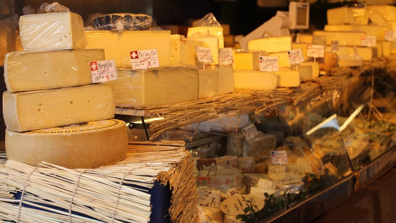 Swiss cheese in Germany. It might be cheaper - © Richardjay1141 | Dreamstime.com