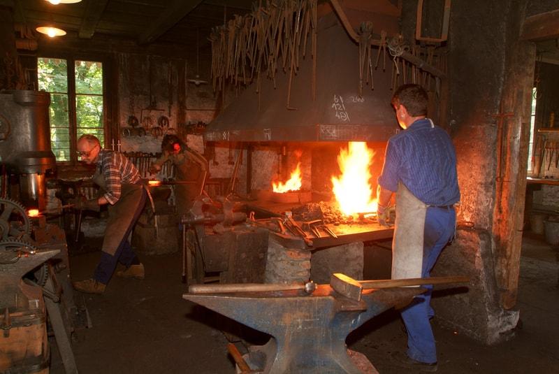 Blacksmiths at work in Switzerland - © Stefano Ember | Dreamstime.com