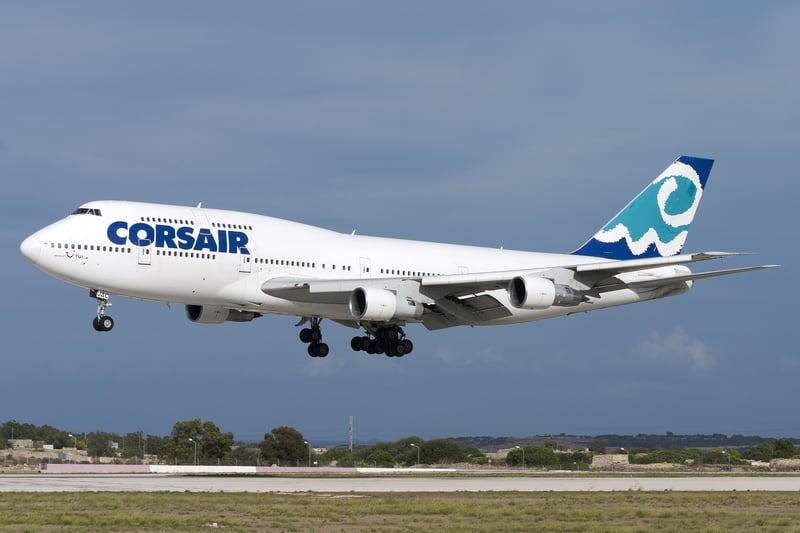 Corsair Boeing 747 - © Gordzam | Dreamstime.com