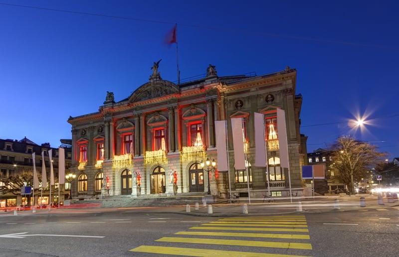 Grand Theatre Geneva - © Elena Duvernay | Dreamstime.com