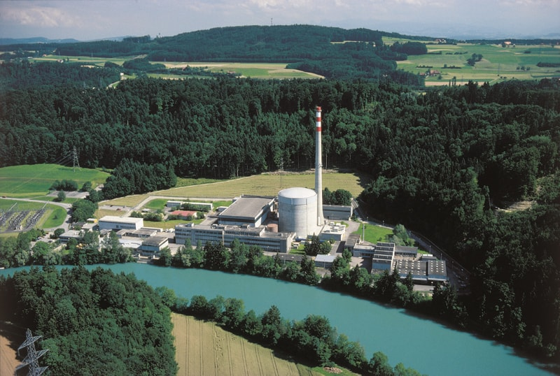 Müheberg nuclear power station - Source: Wikipedia - By BKW FMB Energie AG