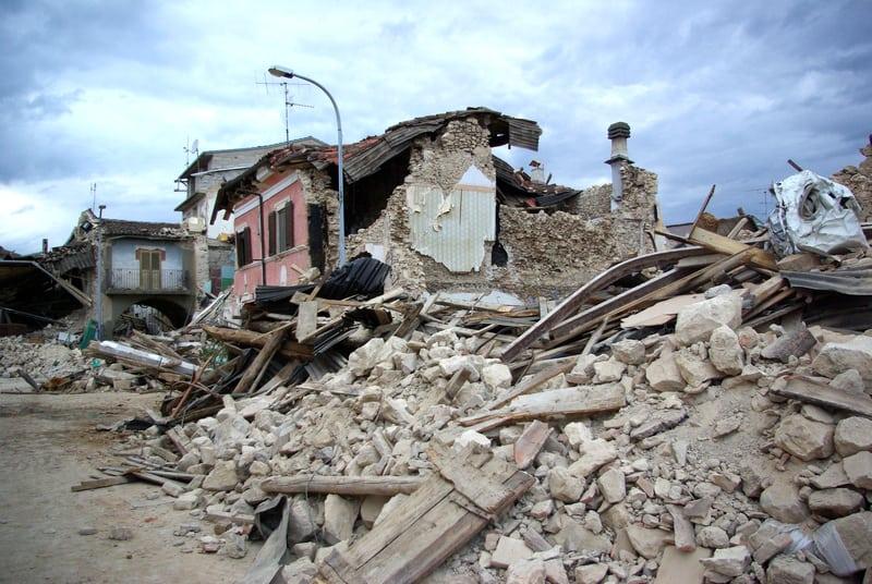 Earthquake in Abruzzo Italy - © Walter Graneri | Dreamstime.com