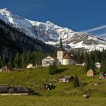 The one Swiss canton where the population is declining