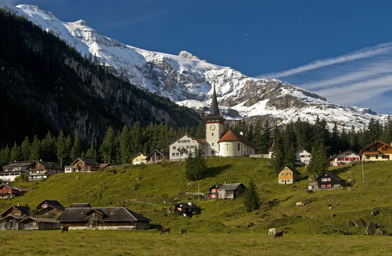 Mountain village in the canton of Uri - © Asdf_1 | Dreamstime.com