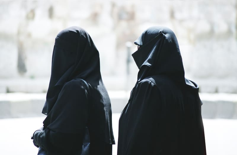 Muslim women on the street in Aleppo - © Grzegorz Japol | Dreamstime.com