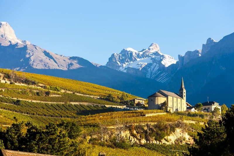 Sion, Valais, Switzerland - © Richard Semik | Dreamstime.com