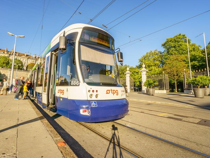 TPG tram in Geneva - © Hai Huy Ton That | Dreamstime.com