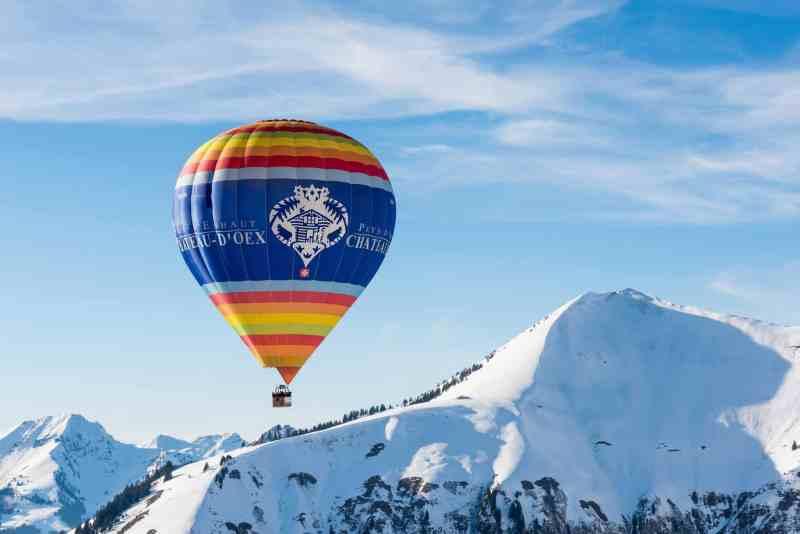 Chateau d'Oex balloon_Facebook_Pays-d'Enhaut Tourisme_© D. Schrekling