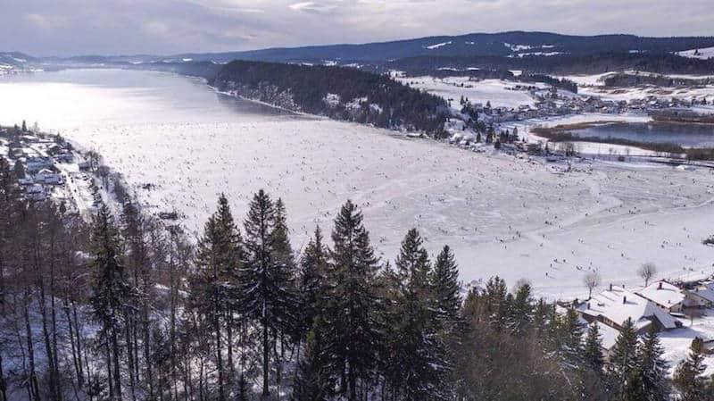 Lac de Joux - source: Facebook