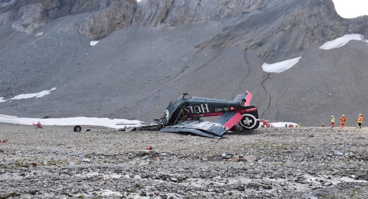 Cause of fatal vintage plane crash in Switzerland remains a mystery