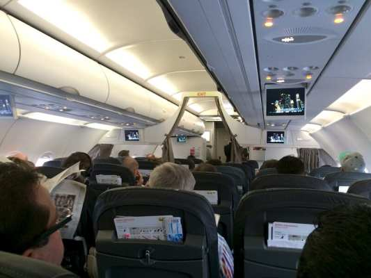 Flying economy class on Swiss