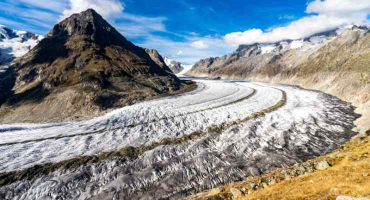 Switzerland's largest glacier could shrink by half by century end