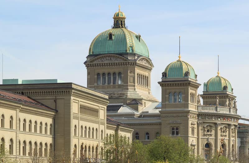 Large government budget deficit in 2021 for Switzerland
