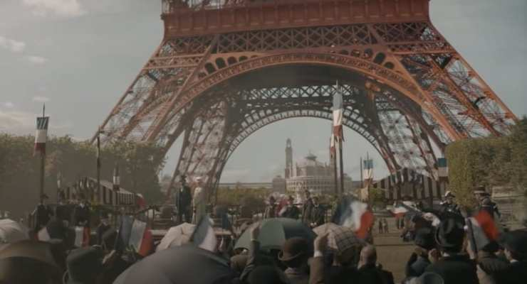 FILM: EIFFEL –  the fascinating story of the man who built it