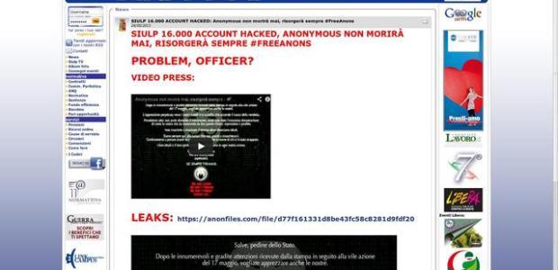 Anonymous passa al contrattacco, guerra informatica.