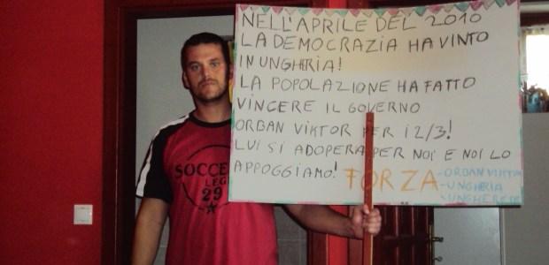 Comunicato stampa dal popolo Ungherese.
